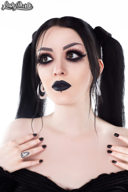 LashyDoodle Goth Double